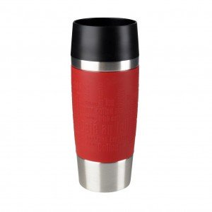 Emsa Isolierbecher Travel Mug Rot